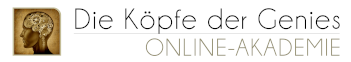 Köpfe der Genies Akademie Logo